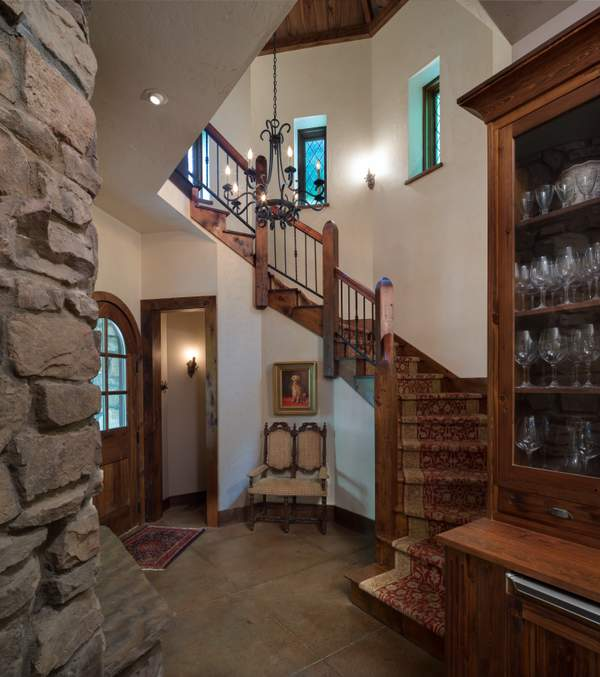 Rustic Stone Cottage 3,030 Square foot custom home?