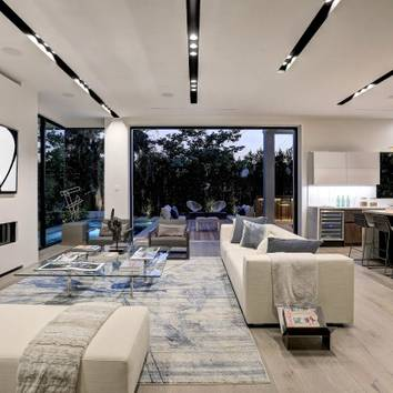 Hollywood Hills New Home Construction This remodel was finished in 2017 based in the hills of Hollywood, CA. This new construction was done completely