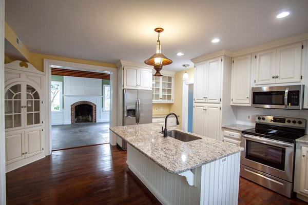 Kitchen opens to Great Room perfect for entertaining
