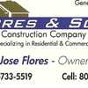 Flores & Sons Construction Co