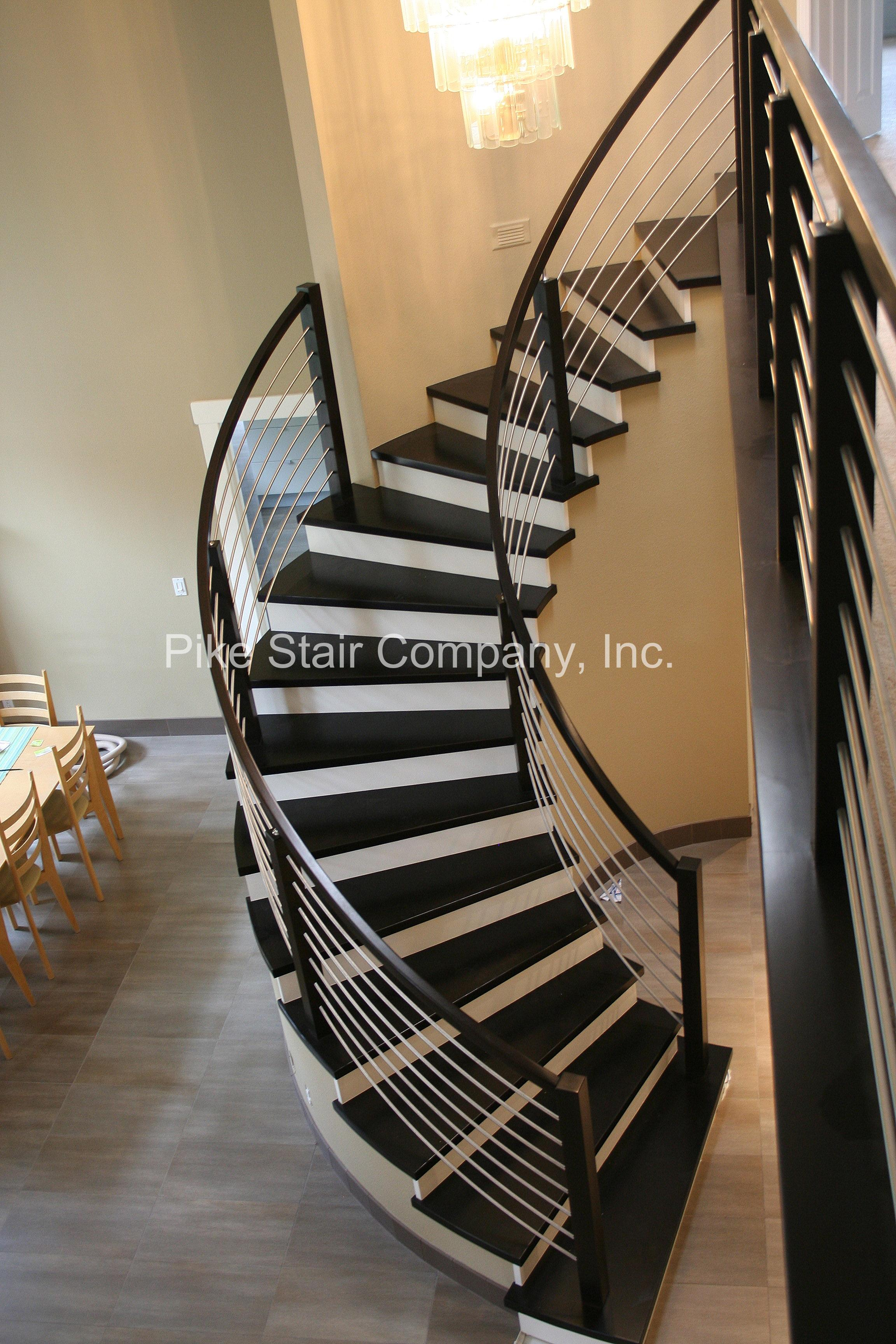 Great Pike Stair Company Photos. Carlsbad Stair Remodeling Project