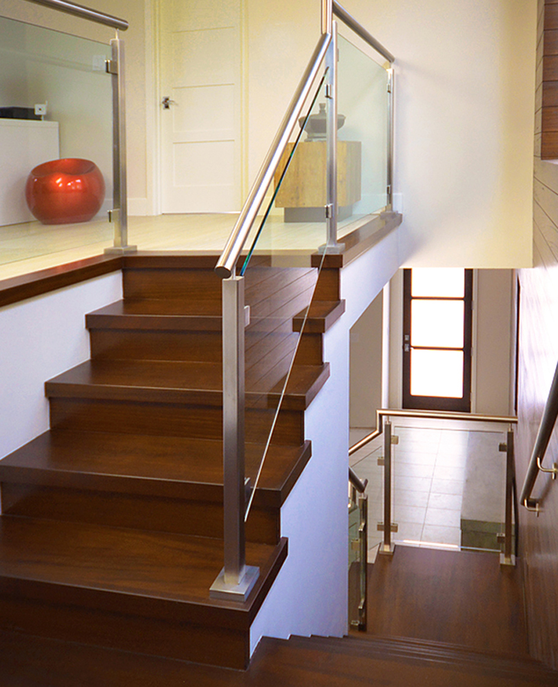 Gentil Socal Stairs Photos. Stainless And Glass