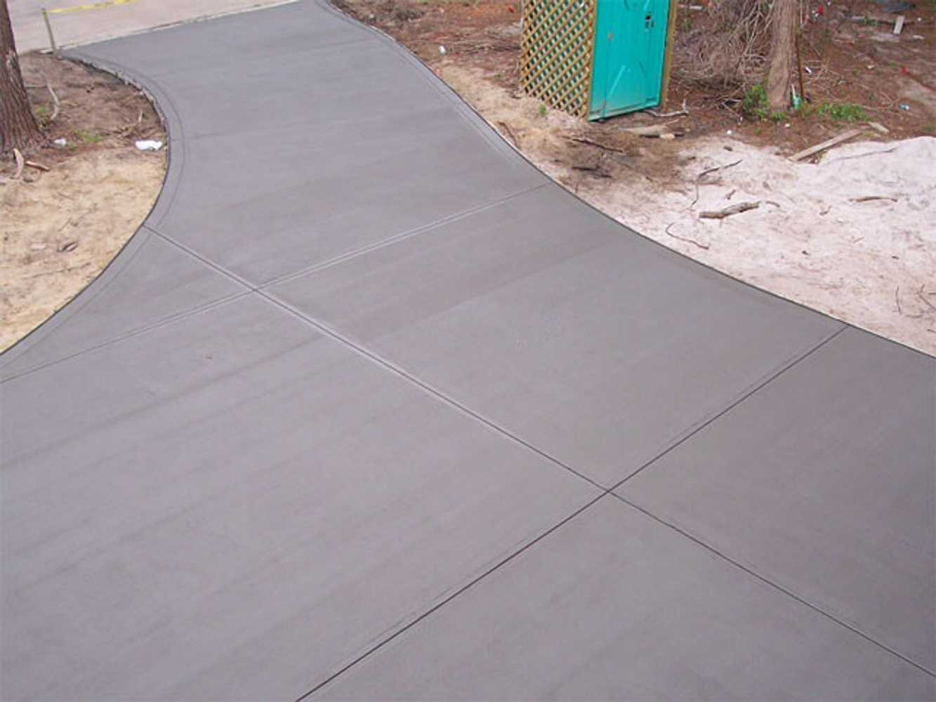 Backyard Ideas Stamped Concrete Contrast Of Smaller Pavers